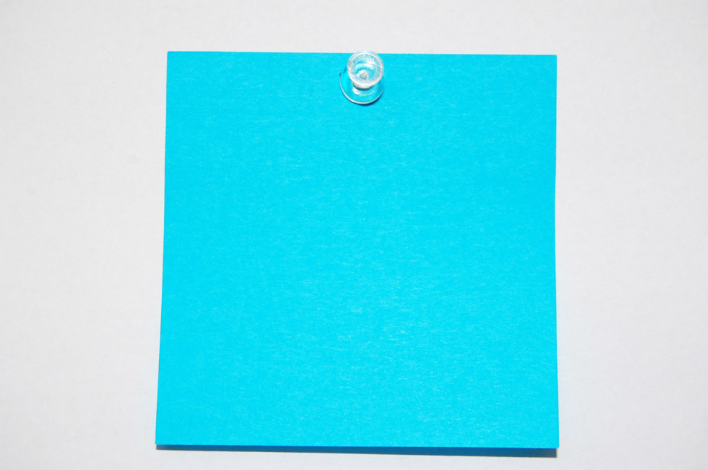 Post-it-note-on-white-background